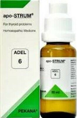 Adel-6 For hypothyroidism,hyperthyroidism,enlarged & dysfunctional thyroid  gland