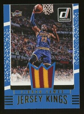 2016-17 Donruss Jersey Kings LeBron James Cleveland Cavaliers Patch 410