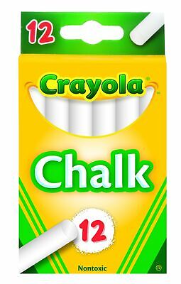 Crayola White Chalk 12 each 51-0320