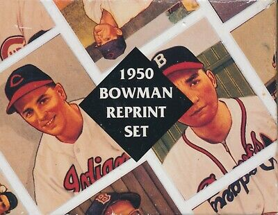 PARTIAL 1950 Bowman Reprint Set  235 Cards BONUS Mickey Mantle Honus Wagner