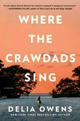 Where The Crawdads Sing by Delia Owens 🔥FAST🔥eDelivery