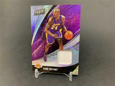 2018 PANINI BLACK FRIDAY PROMO KOBE BRYANT 24 ESCHER SQUARES JERSEY RELIC 25