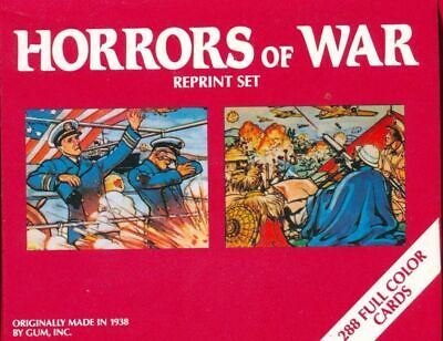 World War II Horrors of War II 40 Different Reprint Trading Cards  GRAPHIC