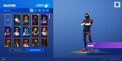 Ikonik skin accountSwitchMobileXboxPCPS4Don t paypal meOnly Gift Cards