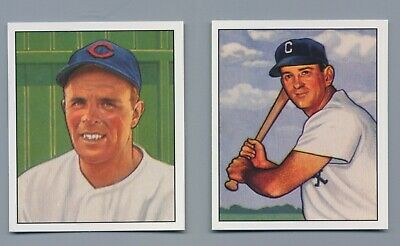 1950 Bowman Reprints Chicago Cubs Team - 1950 Chicago White Sox Team Complete