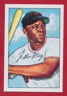 1952 New York Giants Bowman Reprint Set with Willie Mays Rookie and BONUS ITEM