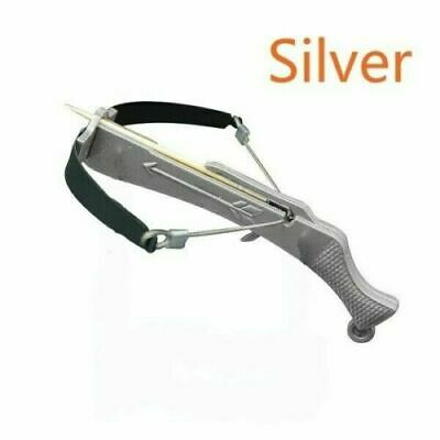 SILVER Toothpick Crossbow Working Desk Ornament Toy FAST US SELLER