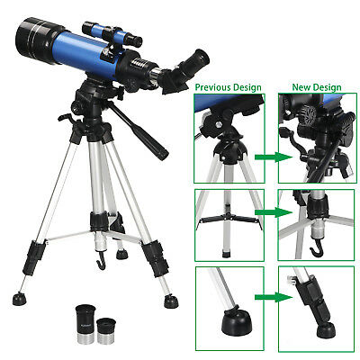 40070 Refractor Astronomical Telescope With Tripod - Phone Adapter For Beginners