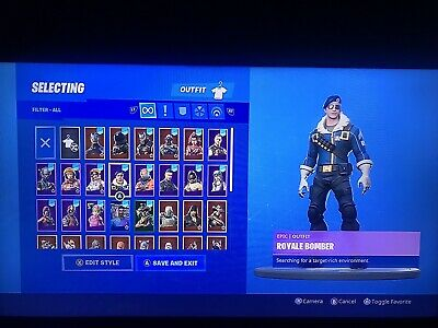 Fortnite Royal Bomber Account Sell or Trade