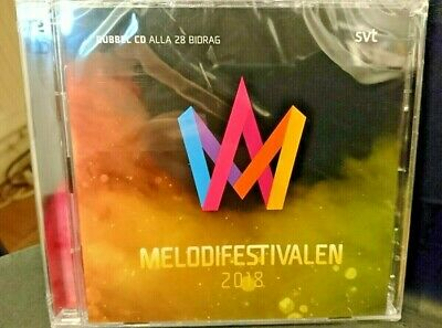Eurovision Song Contest MELODIFESTIVALEN 2018 Swedish 2xCD Album