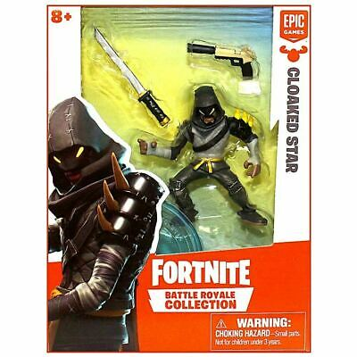 FORTNITE BATTLE ROYALE COLLECTION Cloaked Star SINGLE FIGURE PACK 2019 NEW
