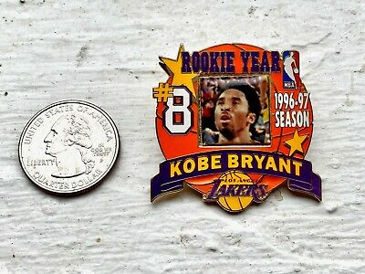 Kobe Bryant 1st Year Pin Los Angeles Lakers Licensed by the NBA