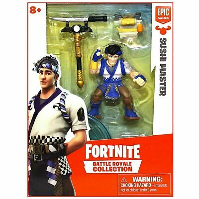 FORTNITE BATTLE ROYALE COLLECTION Sushi Master SINGLE FIGURE PACK 2019 NEW