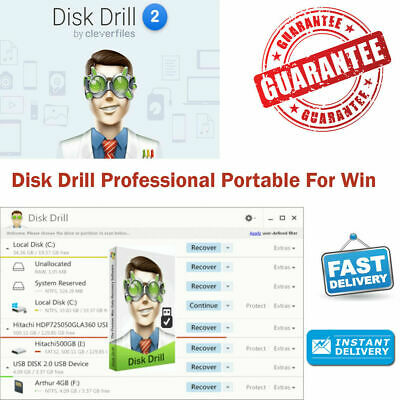 Disk Drill Professional V2 Portable  Licensed Full version  FAST DELIVERY