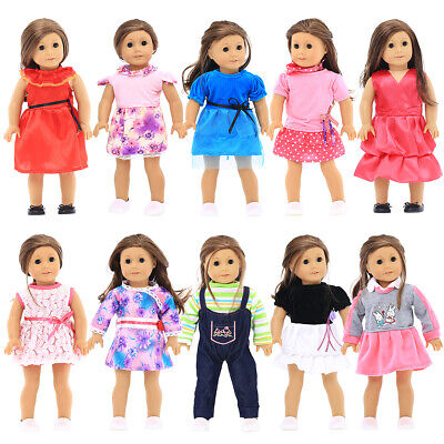 10 Different 18 inches Doll Clothes Fit American Girls Doll My Generation Doll
