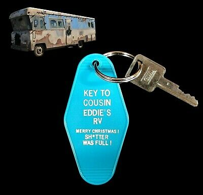 KEY TO COUSIN EDDIES RV Christmas Vacation KEY TAG movie Clark Griswold