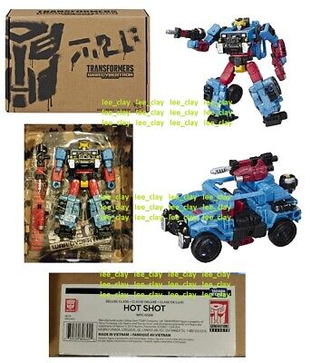 Transformers SELECTS War for Cybertron Deluxe Class Hot Shot  NEW WFC-GS09 RARE
