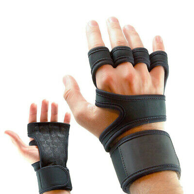 Gym Fitness Gloves Weight Lifting Hand Palm Protector with Wrist Wrap Support