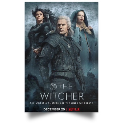 The Witcher Dec New Movie Poster Sizes 16x24 24x36