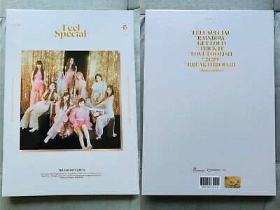 TWICE FEEL SPECIAL Album OPENED - Poster - Preorder Photocards Tzuyu Nayeon Sana