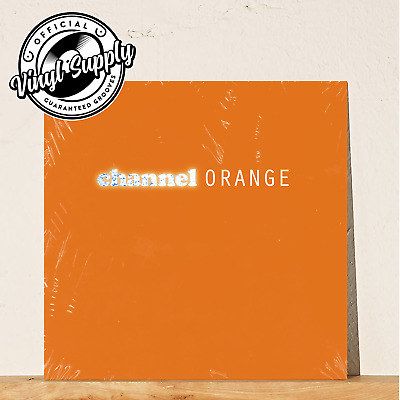 Frank Ocean - Channel Orange 2LP Vinyl Orange Edition Sealed 2019 Golden Girl