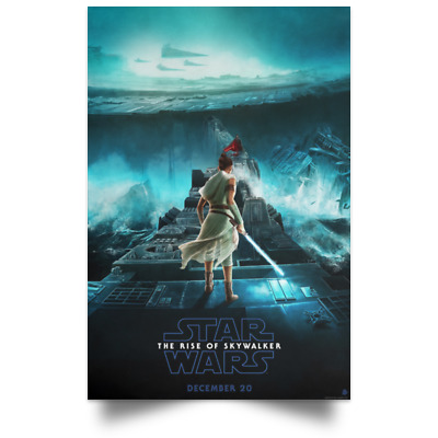 Star Wars The Rise of Skywalker Poster sizes 12x18 16x24 24x36 32x48