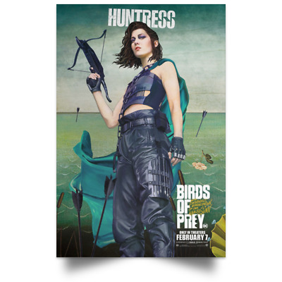 Birds of Prey Huntress Character Movie Poster Sizes 16x24 24x36