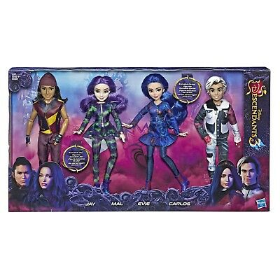 Disney Descendents 3 Isle Of The Lost Collection 4 Pack Fashion Dolls New In Box