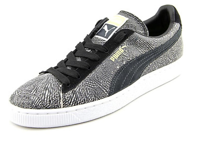 Puma Mens Suede Mis-Match Round Toe Suede Sneakers
