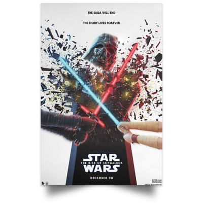 star wars the rise of skywalker Dec New Movie Poster Sizes 16x24 24x36