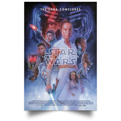 Star Wars the Rise of Skywalker Australia Ver New Movie Poster Sizes 16x24 24x36