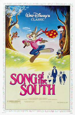 Song of the south Disney cult movie poster print 21