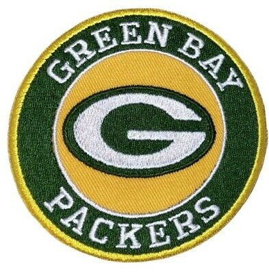 Green Bay Packers Iron on Patch 3 FREE ship 2-3 day USA for hats clothing bag