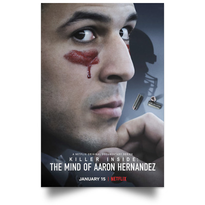 Killer Inside The Mind of Aaron Hernandez January Movie Poster size 16x24 24x36