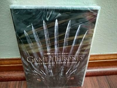 Game of Thrones Complete Season 8 4-Disc DVD 2019 - BRAND NEW  SEALED