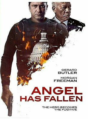 Angel Has Fallen DVD 2019 Brand New and Free Shipping