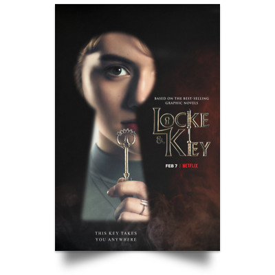 Locke And Key Character New Movie Poster Size 16x24 24x36 3