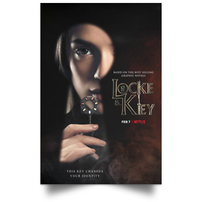 Locke And Key Character New Movie Poster Size 16x24 24x36 2