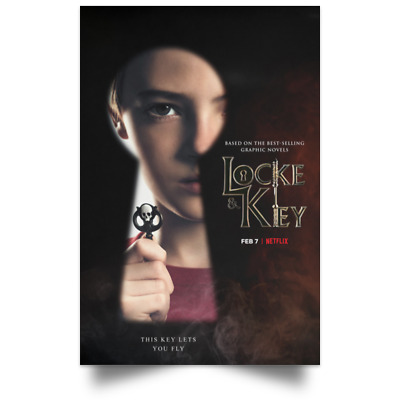 Locke And Key Character New Movie Poster Size 16x24 24x36 1