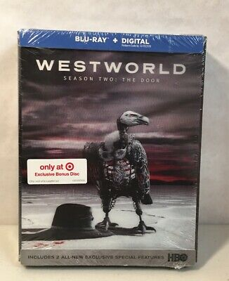 Westworld Season 2 Two The Door Target Exclusive Edition Bonus Disc Blu-Ray New