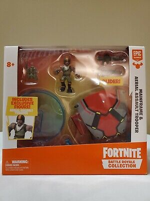 NEW Fortnite Battle Royale Collection Mainframe and Aerial Assault Trooper