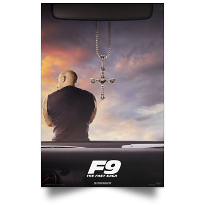 Fast and Furious 9 New Movie Poster Size 16x24 24x36