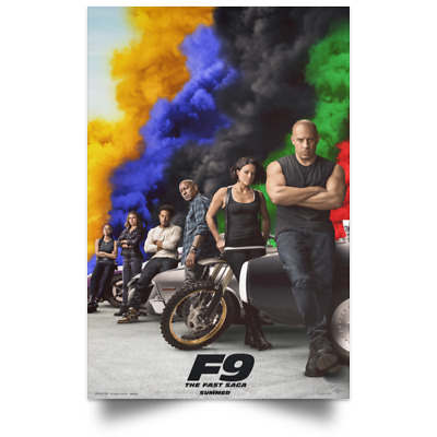 Fast - Furious 9 New and Best Movie Poster Size 16x24 24x36