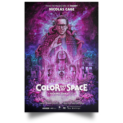 Color Out of Space New and Best Movie Poster Size 16x24 24x36