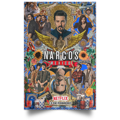 Narcos Mexico TV New Movie Poster Size 16x24 24x36