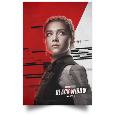 Black Widow Marvel Character May New Movie Poster Size 16x24 24x36 2