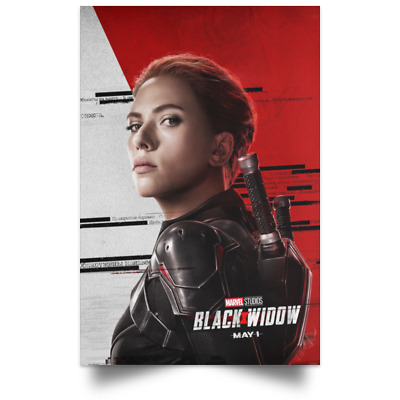 Black Widow Marvel Character May New Movie Poster Size 16x24 24x36 1