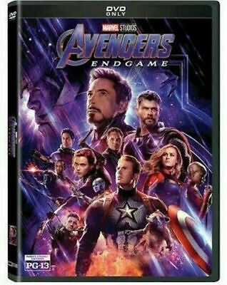 Avengers Endgame DVD New - Sealed Free Shipping Included