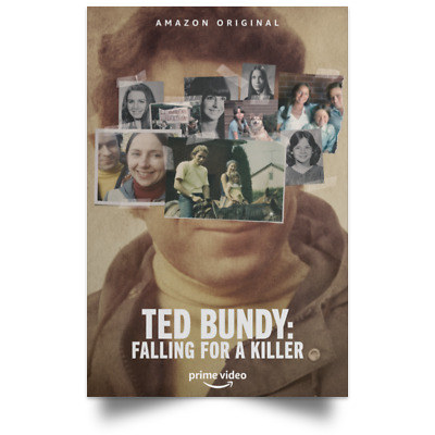 Ted Bundy Falling for a Killer New Movie Poster Size 12x18 16x24 24x36 32x48