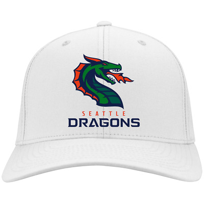Seattle Dragons XFL 2020 CP80 Twill Cap More color